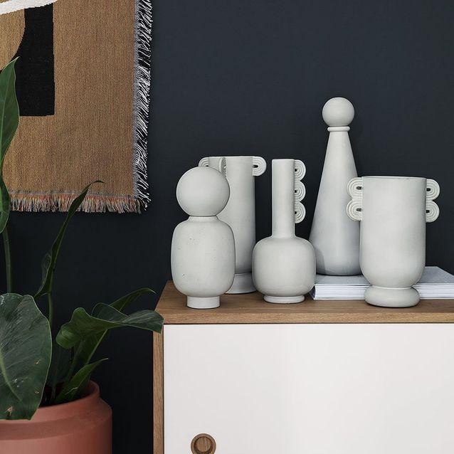 Vase en céramique au look antique