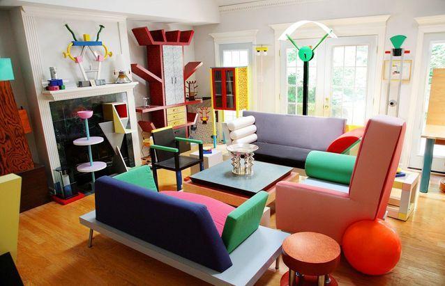 Design et coloré, le style Ettore Sottsass n'a pas pris une ride