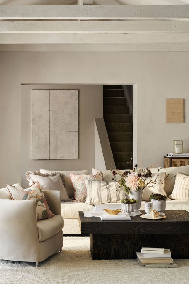 Le salon de la collection H&M Home de l'automne 2020