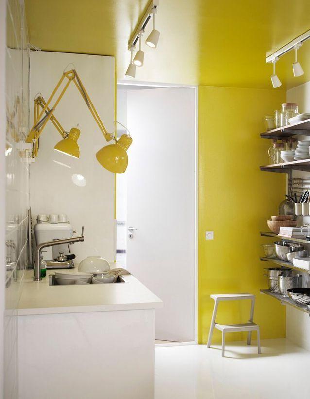 Twister la célèbre lampe d'architecte en luminaire de cuisine