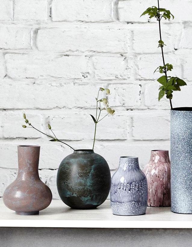 Des vases d'inspiration scandinave