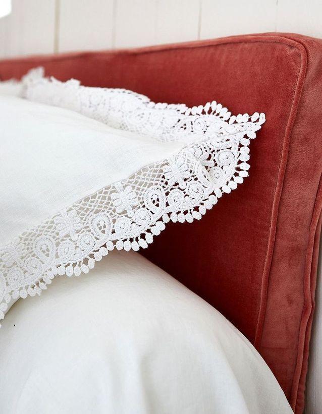 Housse de tête de lit La Redoute Interieurs x Billie Blanket