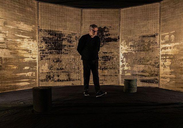 Pierre Bonnefille : Meditation Room au musée Guimet