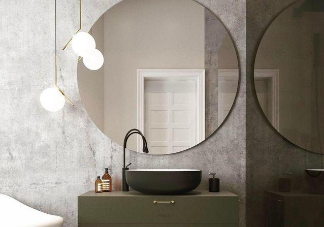 Le miroir rond, cet indispensable déco à nos intérieurs ...