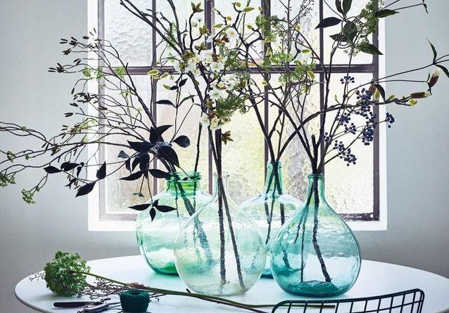 Les Plantes Et Fleurs Artificielles Pas Si Has Been Que Ca Elle