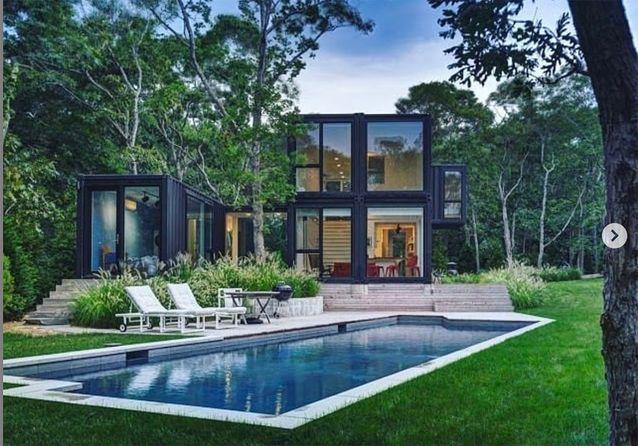 Maison container d'architecte