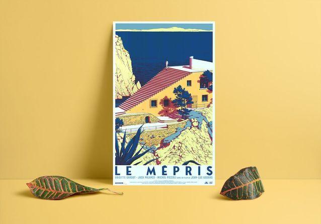 Le Mépris de Jean-Luc Godard (1963)