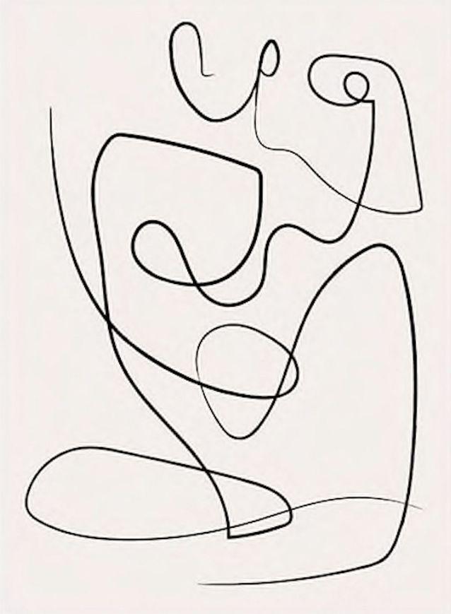 Affiche abstraite