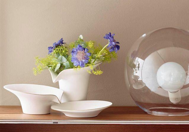 Trio de vases en grès Habitat