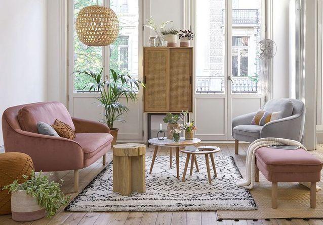 soldes la redoute interieurs hiver 2019 50 meubles et. Black Bedroom Furniture Sets. Home Design Ideas
