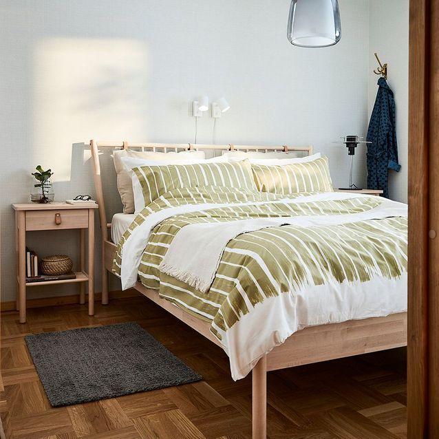 Parure de lit en coton soldée IKEA