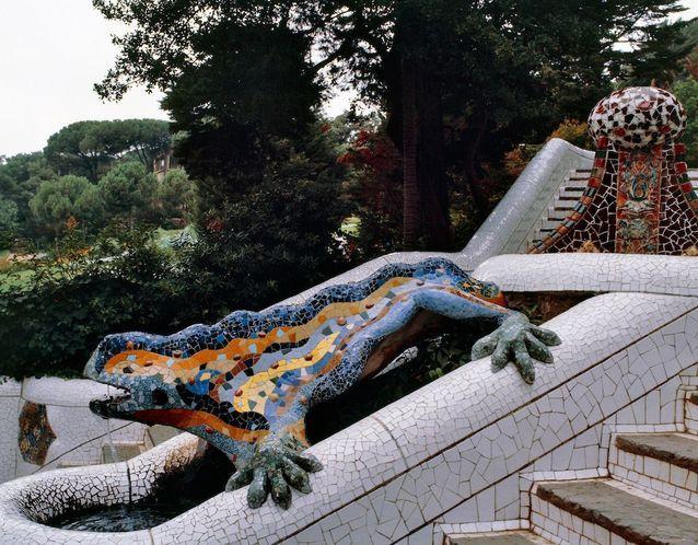 La salamandre du Parc Güell
