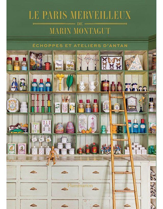 """Couverture du livre """"Le Paris Merveilleux de Marin Montagut"""""""