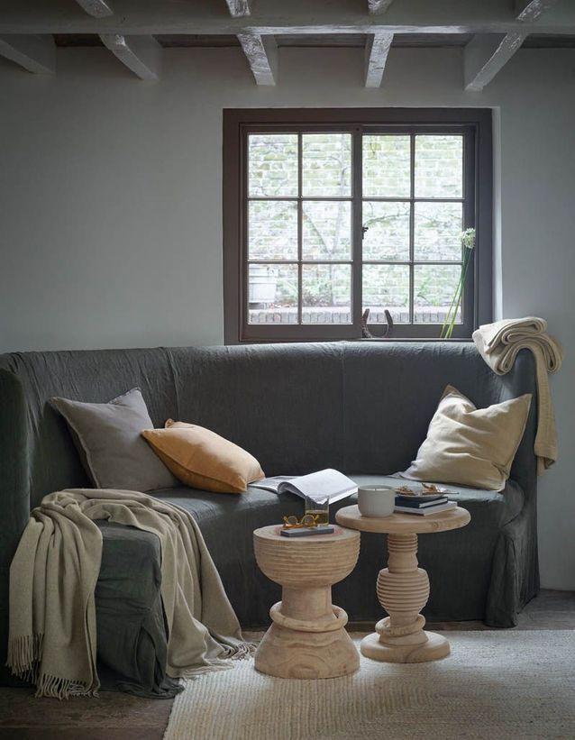 zara home douce simple et zen la nouvelle collection va vous faire un bien fou elle d coration. Black Bedroom Furniture Sets. Home Design Ideas
