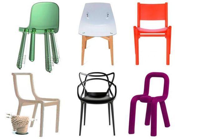 30 chaises de créateur