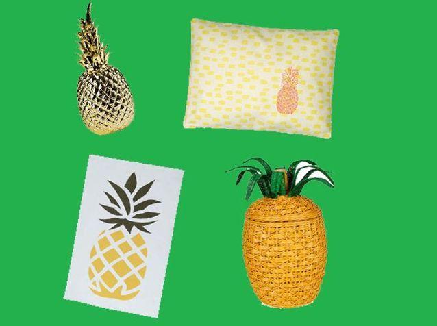 Une déco ananas pour vitaminer son intérieur !
