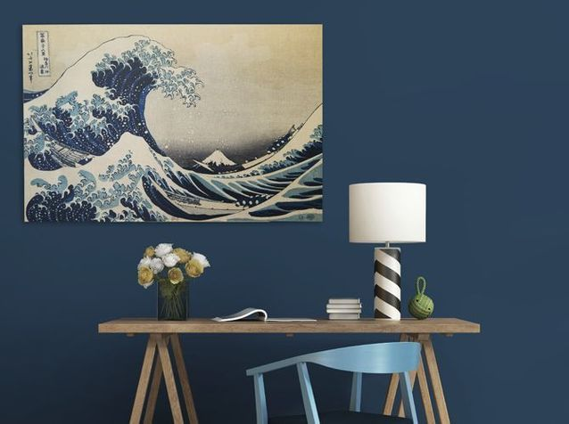 Tendance Le Japon D Hokusai Nous Inspire Elle Decoration