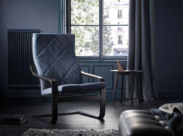 L'objet déco du jour : nouveau look pour le célèbre fauteuil Poäng by Ikea