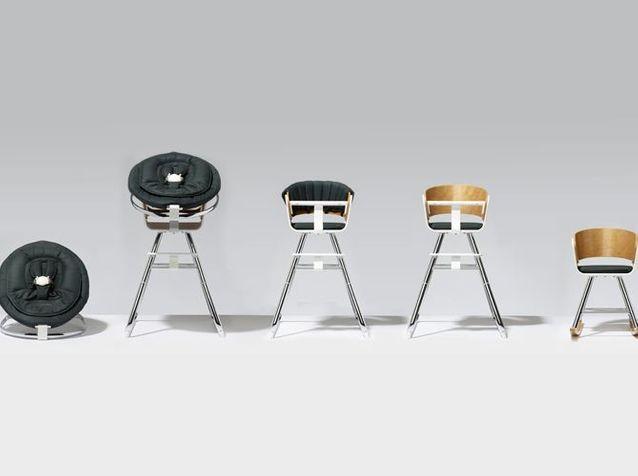 L'objet déco du jour : une chaise évolutive 100 % design pour enfant