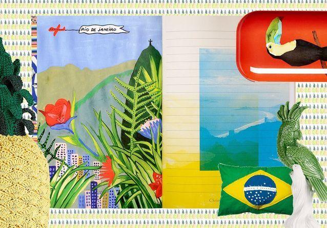 Le Brésil s'invite à la maison !