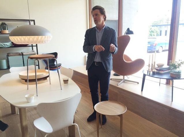 Christoffer Back, directeur de Fritz Hansen Objects