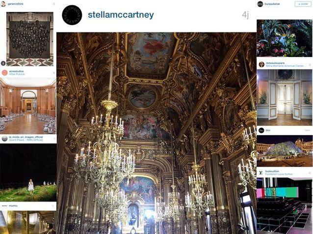 Les Instagram de la semaine : les décors et scénographies de la fashion week