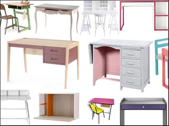 20 bureaux que votre fille va adorer ! - Elle Décoration