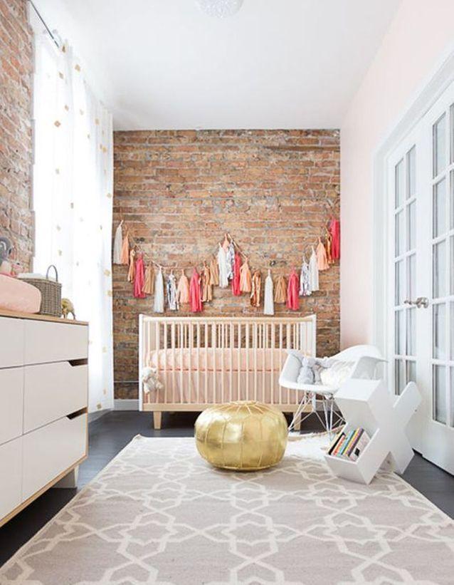 Une chambre de bébé aux multiples influences