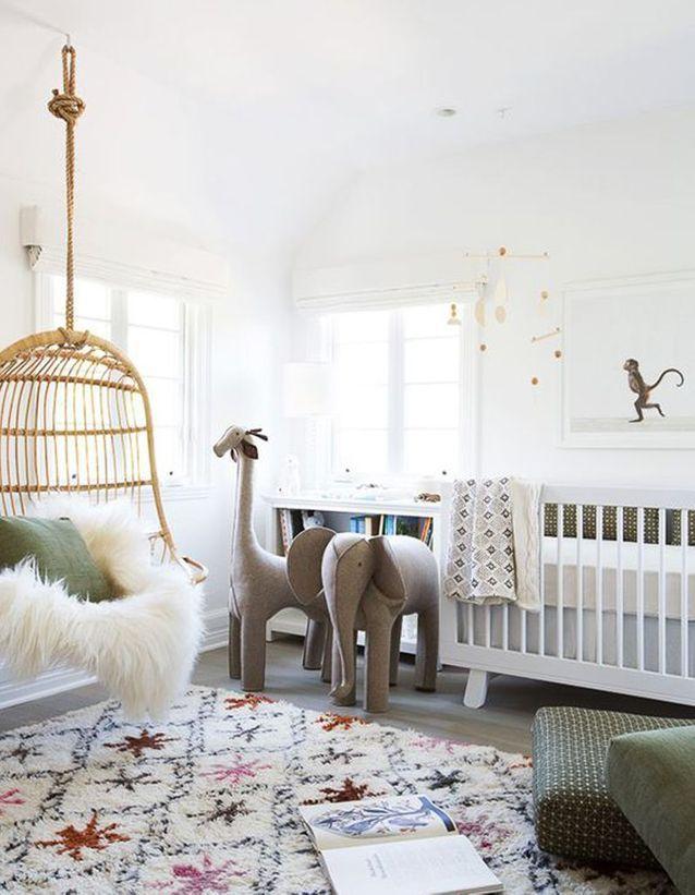 Une chambre de bébé dépaysante