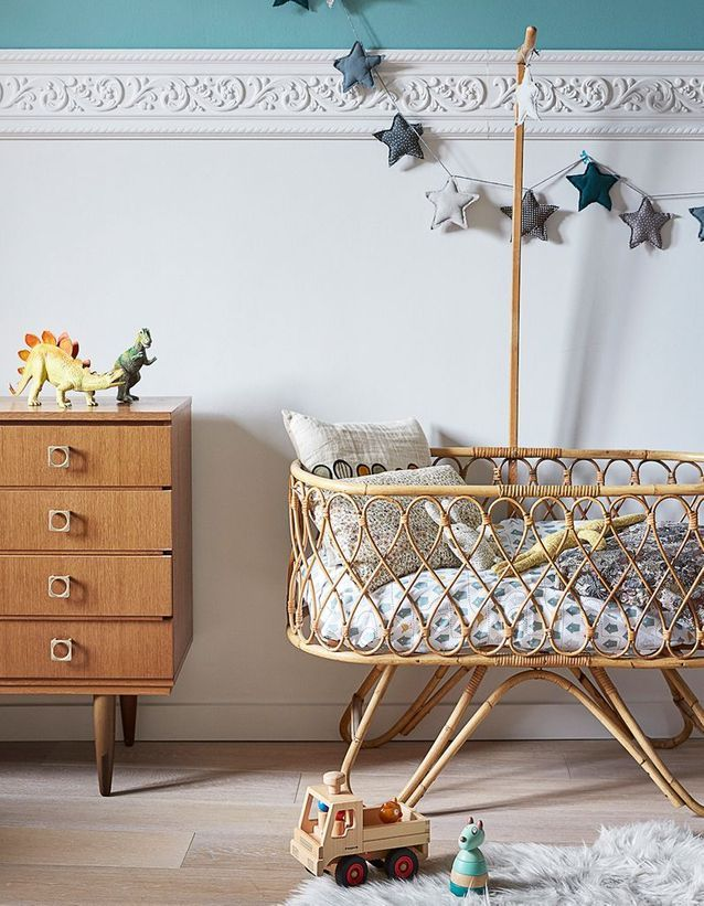 Une chambre de bébé vintage