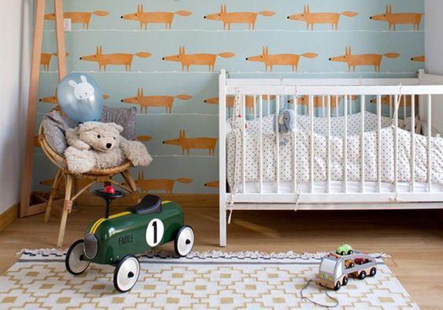 Chambre de bébé : 25 idées qui changent du bleu pour un garçon ...