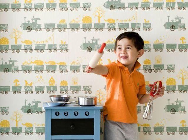 Papier peint enfant : 15 idées fun pour sa chambre