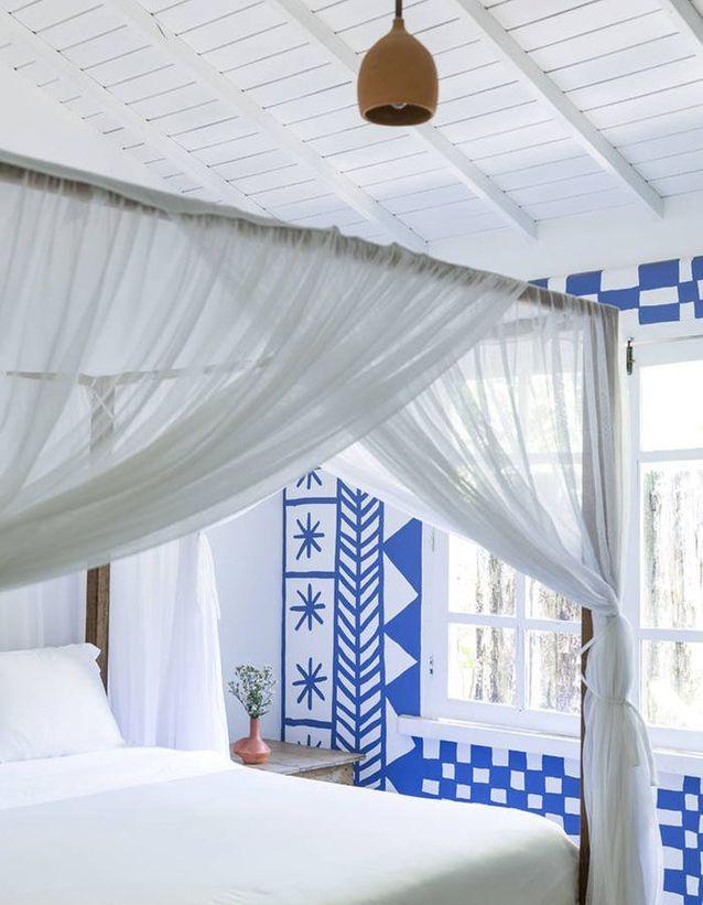 Une chambre blanche à l\'esprit grec - La chambre blanche en 20 ...