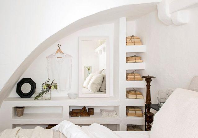Une chambre blanche esprit vacances