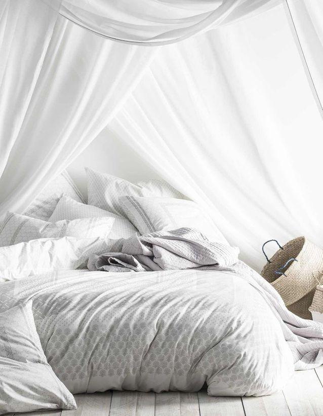 Une chambre blanche très agréable