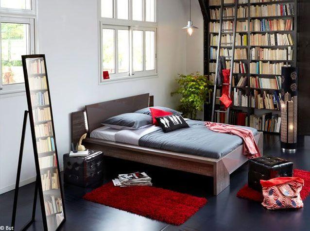 1. La bibliothèque s'invite dans la chambre