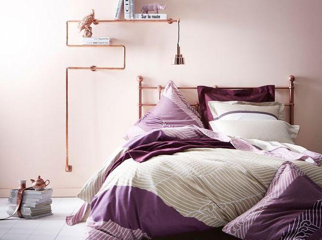 Chambre : on mise sur des murs colorés - Elle Décoration