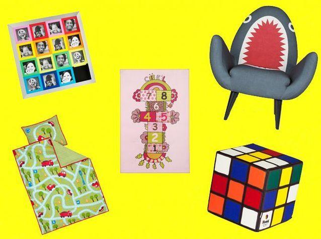 Enfants : une déco fun et colorée pour s'amuser !