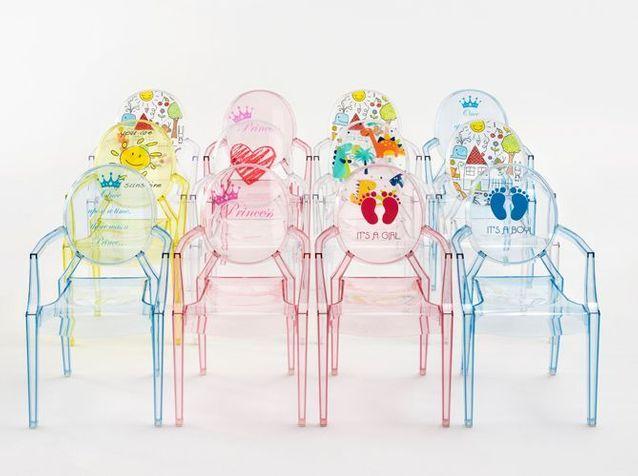 L'objet déco du jour : une chaise design pour enfant à personnaliser