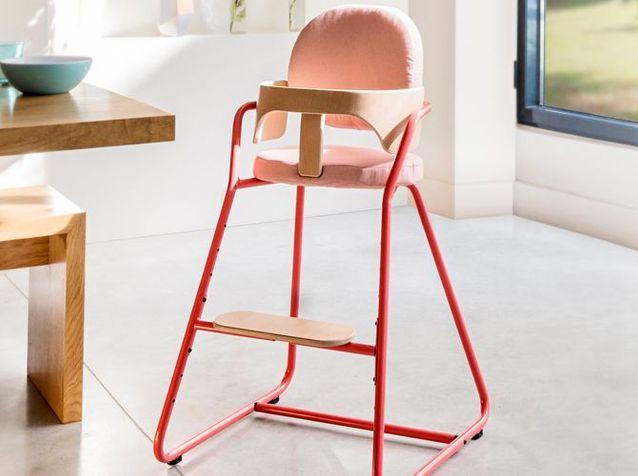 Chaise Haute Design Et Coloré Charlie Crane