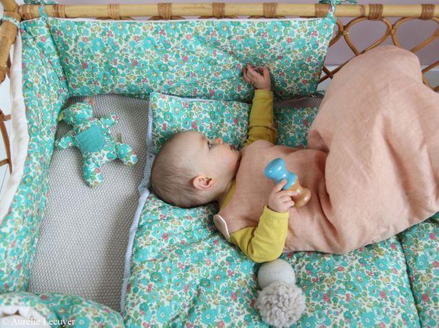 Du joli linge de lit pour mon bébé