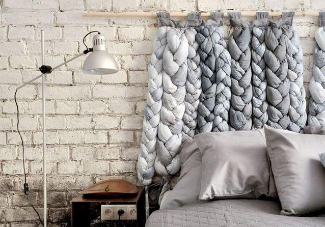 Mur Tete De Lit tête de lit : 25 idées pour une tête de lit originale - elle décoration