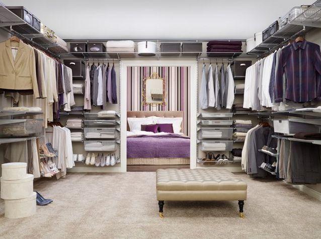 Déco chambre : armoire ou dressing, à vous de choisir ! - Elle ...