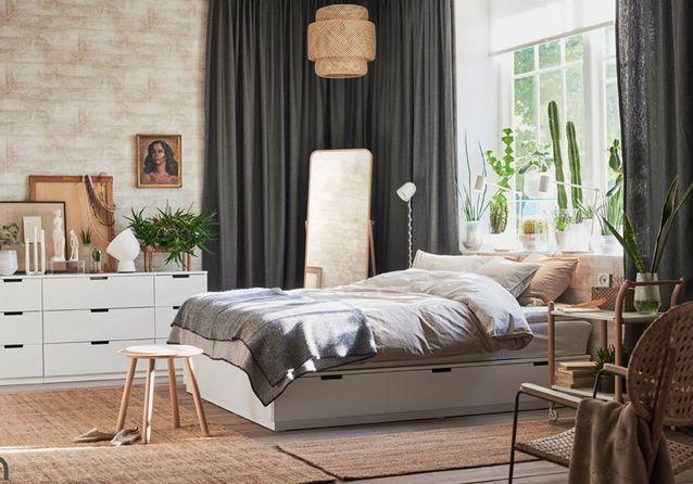 Des lits avec rangement pour gagner de l'espace dans votre chambre