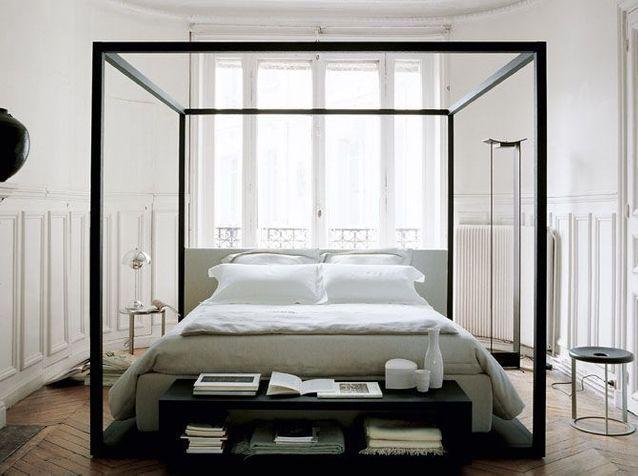 Le lit baldaquin se refait une beaut elle d coration - Chambre lit baldaquin ...