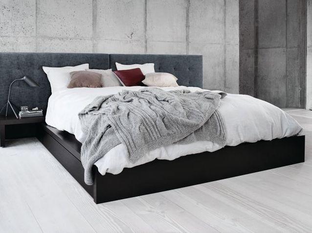 Un grand lit design