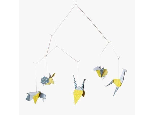 Un mobile origami
