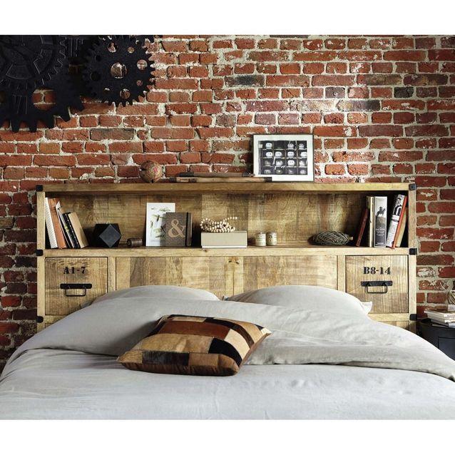 Tête de lit avec rangement - Maisons du Monde