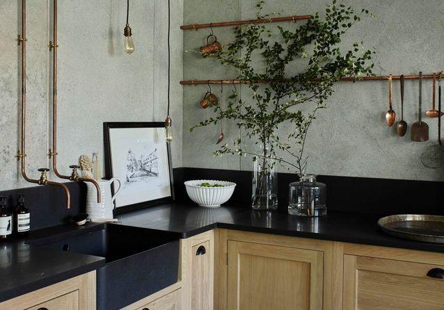 Cuisine De Caractere un plan de travail en granit pour une cuisine de caractère - des