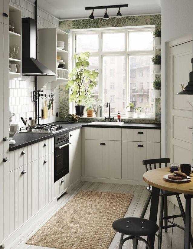 cuisine ikea les plus beaux mod les du g ant su dois elle d coration. Black Bedroom Furniture Sets. Home Design Ideas